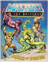 Masters of the Universe Mini-comic - Masks of Power (anglais)