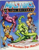 Masters of the Universe Mini-comic - Masks of Power (german-italian)