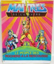 Masters of the Universe Mini-comic - Rock People the Rescue! (english-french-german-italian)