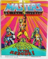 Masters of the Universe Mini-comic - Rock People to the Rescue! (english)