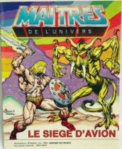 Masters of the Universe Mini-comic - Siege of Avion (english-french)