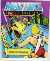 Masters of the Universe Mini-comic - Skeletor\'s Dragon (english-french-german-italian)