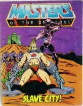Masters of the Universe Mini-comic - Slave City! (english)