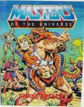 Masters of the Universe Mini-comic - Snake Attack! (english-french-german-italian)