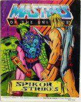 Masters of the Universe Mini-comic - Spikor Strikes (english)