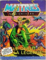 Masters of the Universe Mini-comic - The Powers of Grayskull : The Legend Begins! (english-french-german-italian)