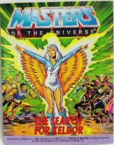 Masters of the Universe Mini-comic - The Search for Keldor (english)