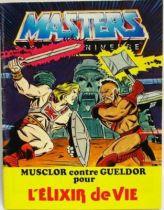 Masters of the Universe Mini-comic - The Secret Liquid of Life (french)