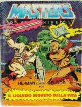 Masters of the Universe Mini-comic - The Secret Liquid of Life (german-italian)