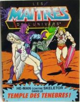 Masters of the Universe Mini-comic - The Temple of Darkness! (english-french)