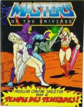 Masters of the Universe Mini-comic - The Temple of Darkness! (french)