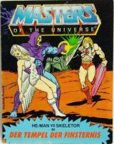 Masters of the Universe Mini-comic - The Temple of Darkness! (german-italian)