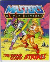 Masters of the Universe Mini-comic - The Terror Claws Strike! (english-french-german-italian)