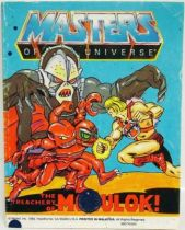 Masters of the Universe Mini-comic - The Treachery of Modulok (english)