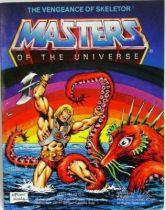 Masters of the Universe Mini-comic - The Vengeance of Skeletor (german-italian)