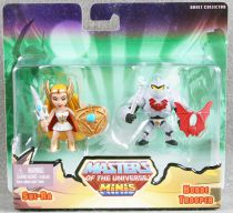 Masters of the Universe Minis - She-Ra & Horde Trooper