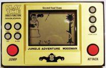 Masudaya (Play & Time) - Handheld Game - Jungle Adventure Woodman (loose)