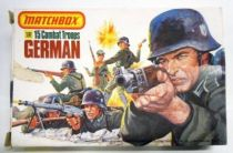 Matchbox - Figures 1:32° WW2 - German Infantry Ref.P-6001 (mint in box)
