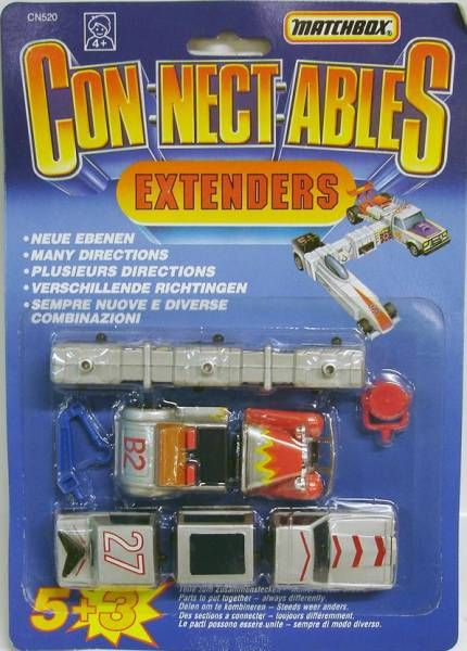 Matchbox Connectables Extenders - Set B