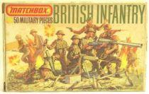 Matchbox figures 76° WW2 British Infantry mint in box