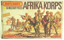 Matchbox figures 76° WW2 German Afrika Korps mint in box