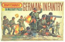 Matchbox figures 76° WW2 German Infantry mint in box