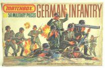 Matchbox figures 76° WW2 German Infantry mint in box