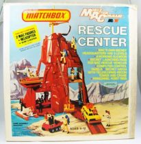 Matchbox Mobile Action Command 1975 - Rescue Center (loose with box)