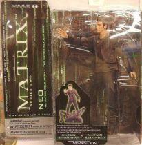 Matrix Reloaded & Matrix Revolutions - Neo Mint on card McFarlane series 2 Action figure