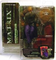 Matrix Reloaded - Morpheus  Mint on card McFarlane series 2 Action figure