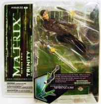 Matrix Reloaded - Trinity Mint on card McFarlane series 2 Action figure