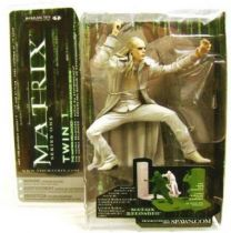 Matrix Reloaded - Twin 1 Mint on card McFarlane series 1 Action figure