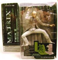 Matrix Reloaded - Twin 2 Mint on card McFarlane series 1 Action figure