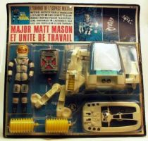 Matt Masson and space power suit mint on card