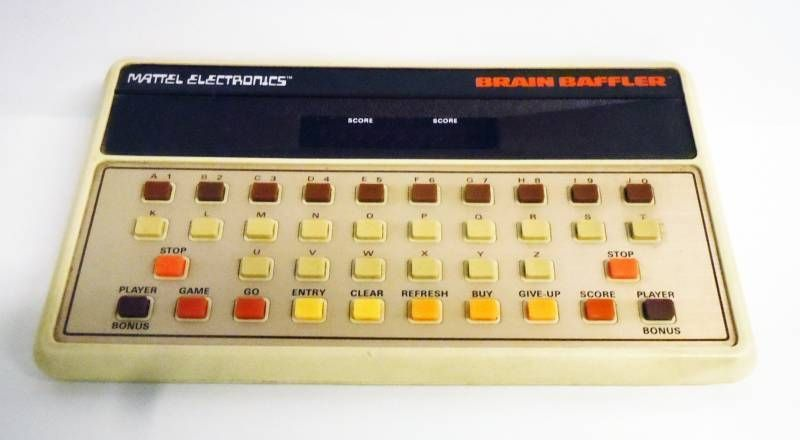 Mattel Electronics - LED Video Game - Brain Baffler(loose)