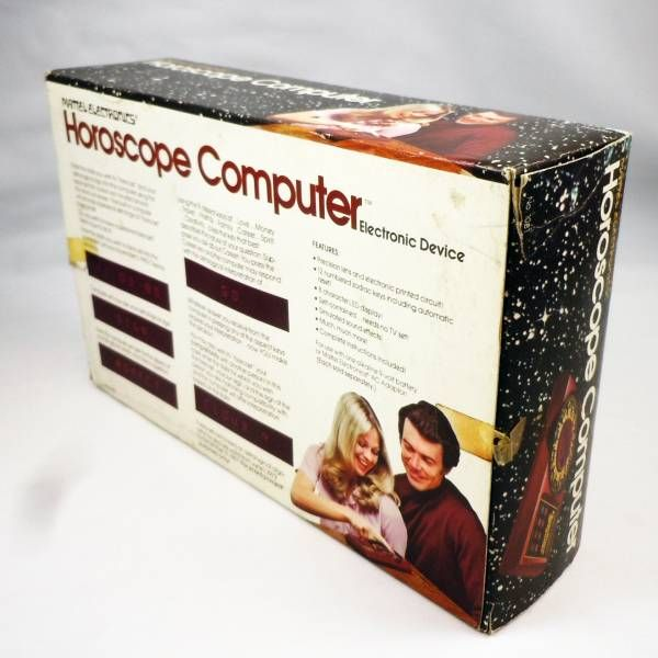 Mattel Electronics - LED Video Game - Horoscope Computer