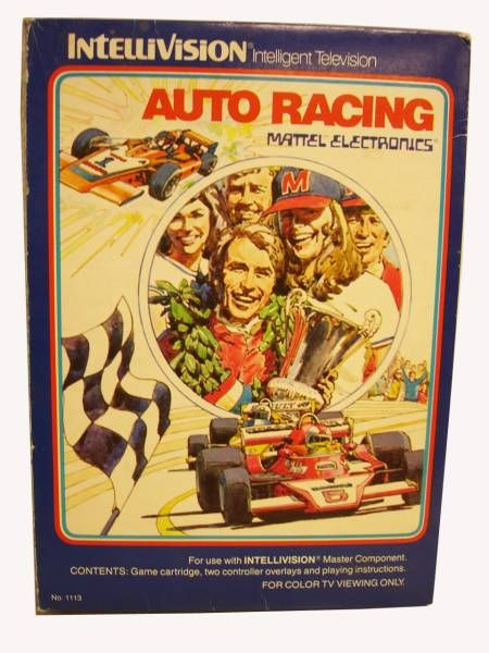 Mattel Electronics Intellivision - Auto Racing