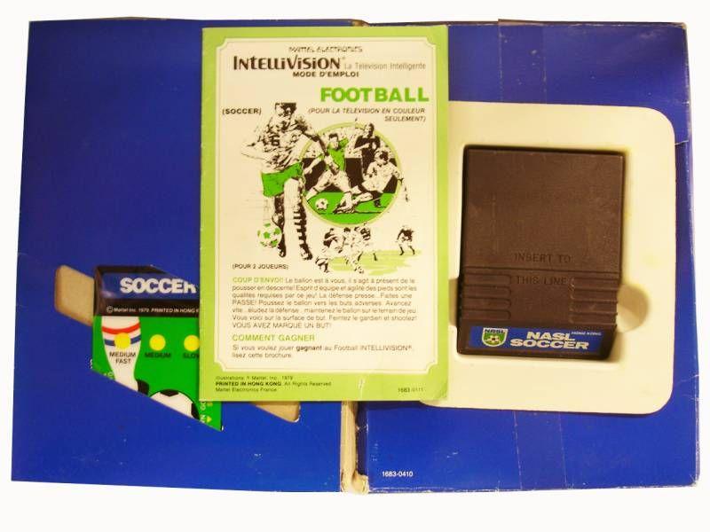 Mattel Electronics Intellivision - Soccer