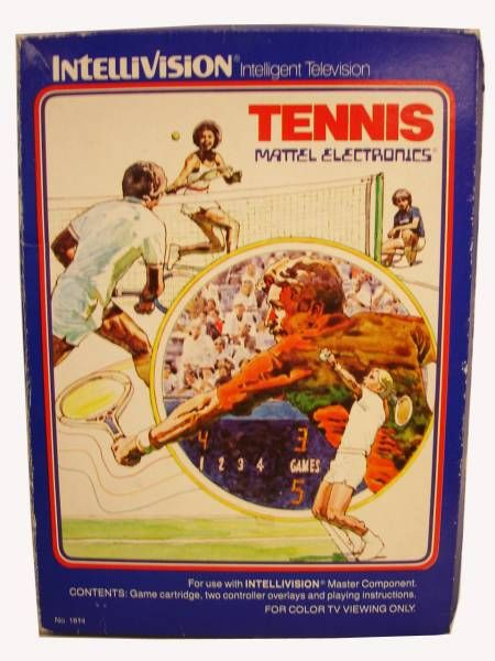 Mattel Electronics Intellivision - Tennis