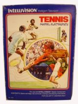 Mattel Intellivision - Tennis