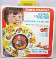 Mattel Preschool 1979 - Horloge Parlante See\'n Say Le fermier te dit