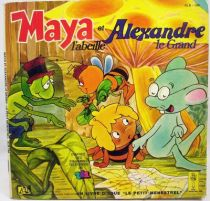 Maya l\'abeille -  Livre-disque 45T- Maya et Alexandre le Grand