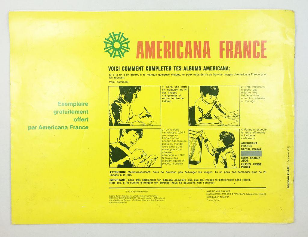 Maya l\'Abeille - Album collecteur de vignettes Americana France