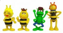 Maya th Bee - Set of 4 figures - Schleich 1991