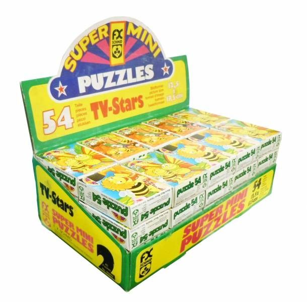 Maya the Bee - FX Schmid Puzzle 54p - Store Display of 40 puzzles