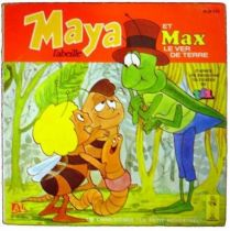 Maya the Bee - Story & Music 45s - Maya & Max the earthworm