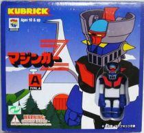 Mazinger Z - Medicom - Kubrick figures set A : Mazinger Z, Garada K7, Sayaka Yumi