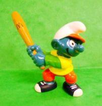 McDonald 1998 Baseball bate Smurf