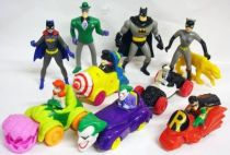 McDonald\'s - Batman The Animated Series - Complete set of figures and vehicles