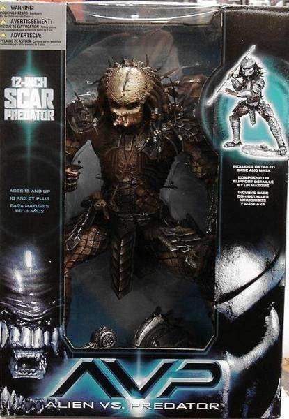 McFarlane - Alien vs. Predator - 12\'\' Scar Predator